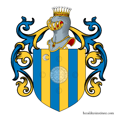 Coat of arms of family Dainesi