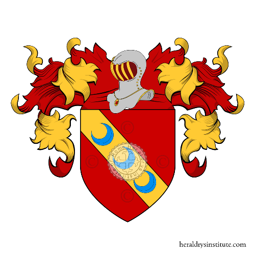 Coat of Arms of family Arduini