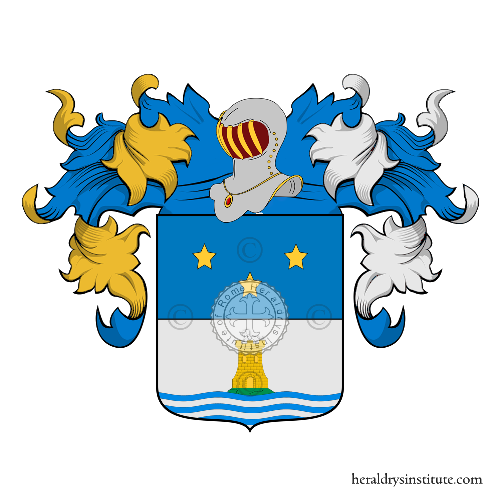 Coat of Arms of family Cani