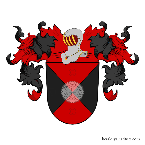 Coat of Arms of family Bente