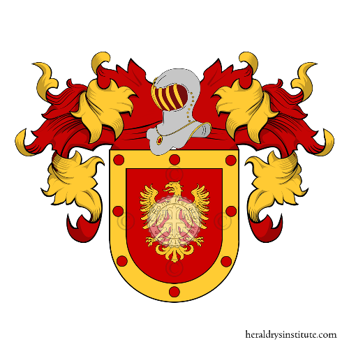 Coat of Arms of family Nieves