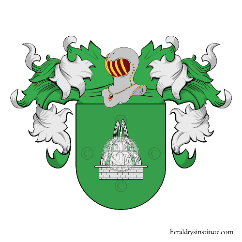 Coat of Arms of family Laosa