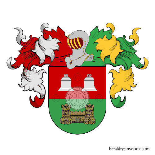 Coat of Arms of family Cavero
