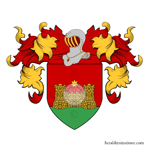 Coat of Arms of family Fognani