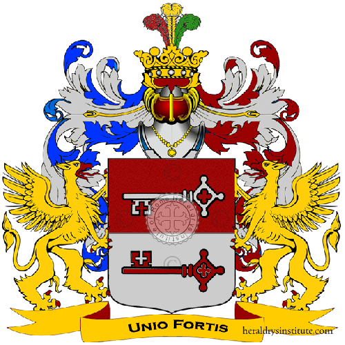 Coat of arms of family Colosi