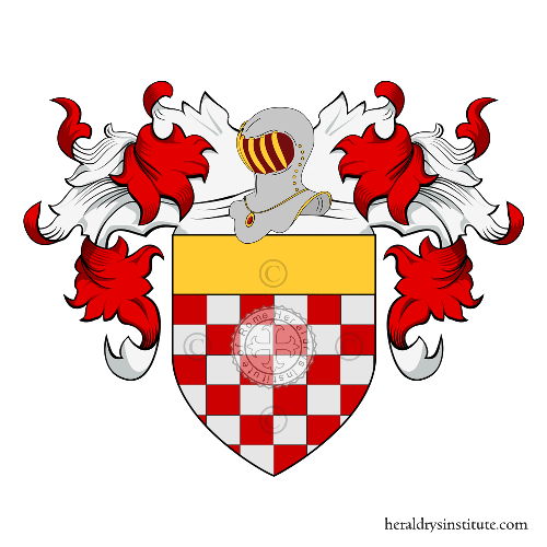 Coat of Arms of family Rebuccini