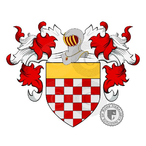 Notaio Pavia: Famiglia Rebucini, Araldica, Genealogia, Stemma E Origine