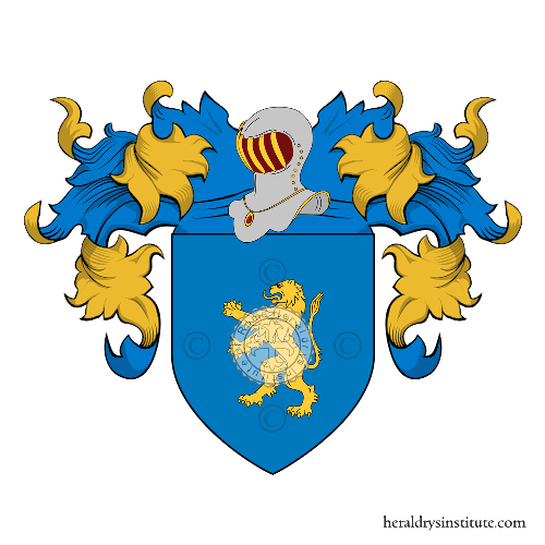 Coat of Arms of family Contestabile Ciaccio
