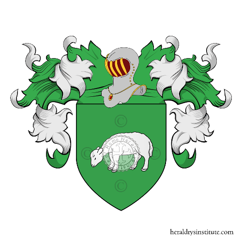Coat of Arms of family Ciaccia