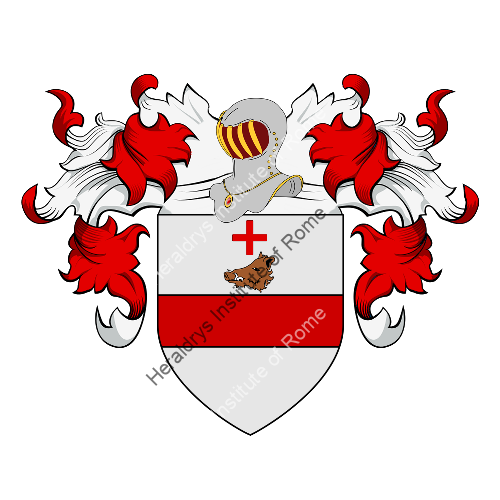 Coat of Arms of family Bonaccolti