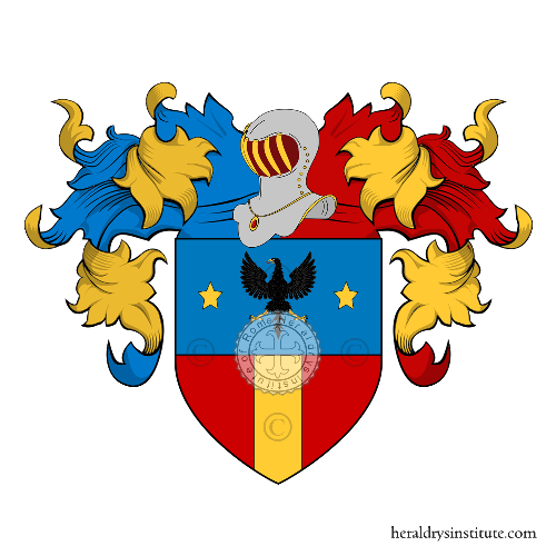 Coat of Arms of family Pignatari