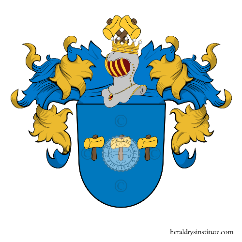 Coat of Arms of family Anton