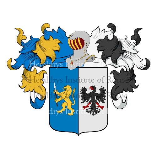 Coat of arms of family Colagrossi