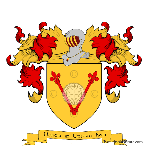 Coat of Arms of family Cantelli