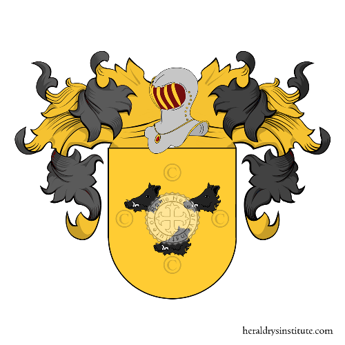 Coat of Arms of family Leocadio