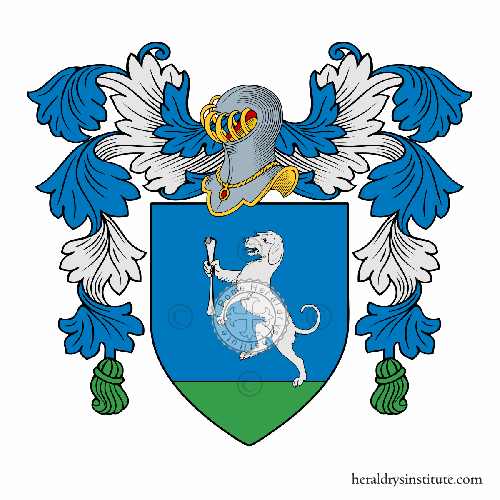 Coat of arms of family Osso (dall')