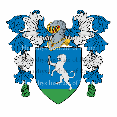 Familien-Wappen Osso (dall')
