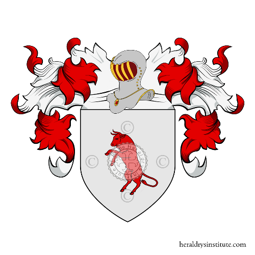 Coat of Arms of family Bene Buccelli