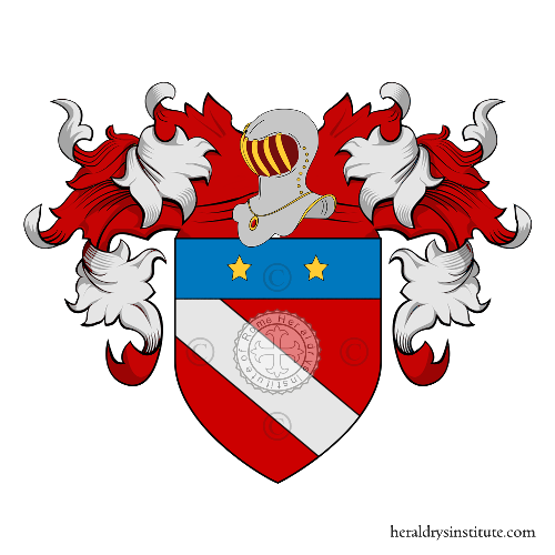 Coat of Arms of family Faetani