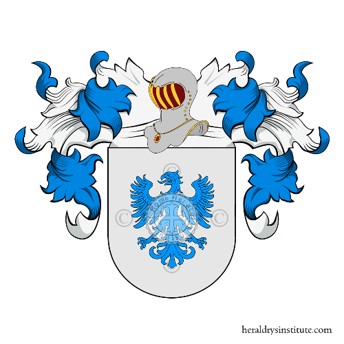 Coat of arms of family Erasmo