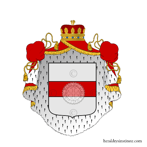 Coat of arms of family Sanseverino