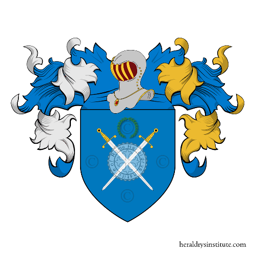 Coat of arms of family Valeriani