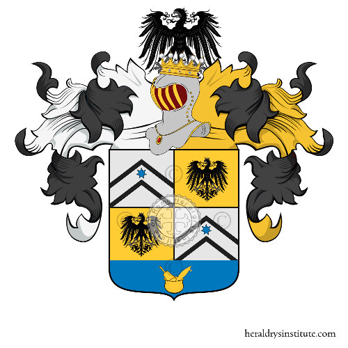 Coat of arms of family Mannucci Benincasa