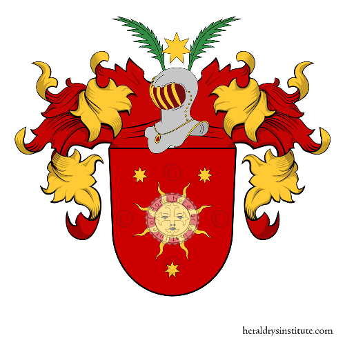 Coat of Arms of family Lohmann