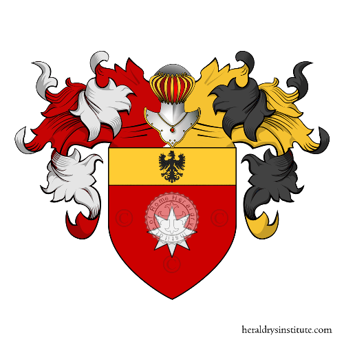 Coat of Arms of family Damiano