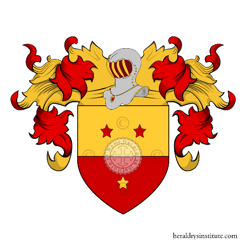 Coat of arms of family Malpii