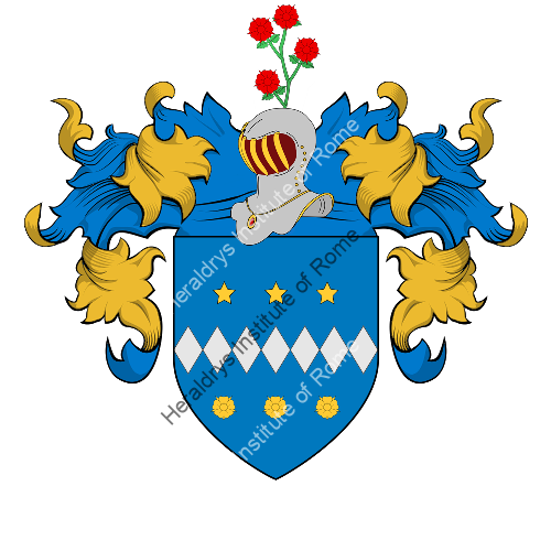 Coat of Arms of family Viretti