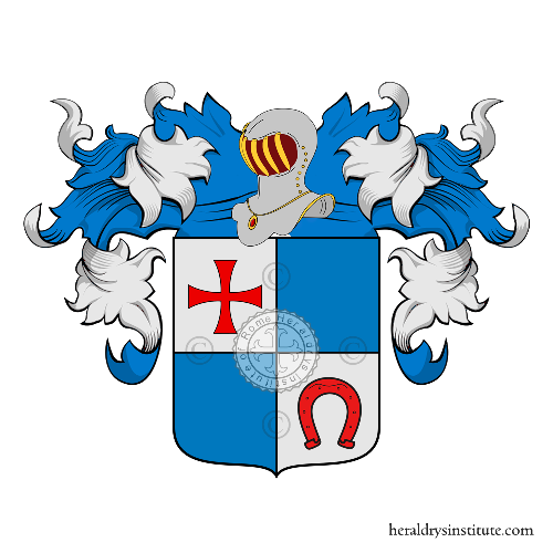Coat of Arms of family Gravatari
