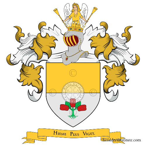 Coat of arms of family Gabutto