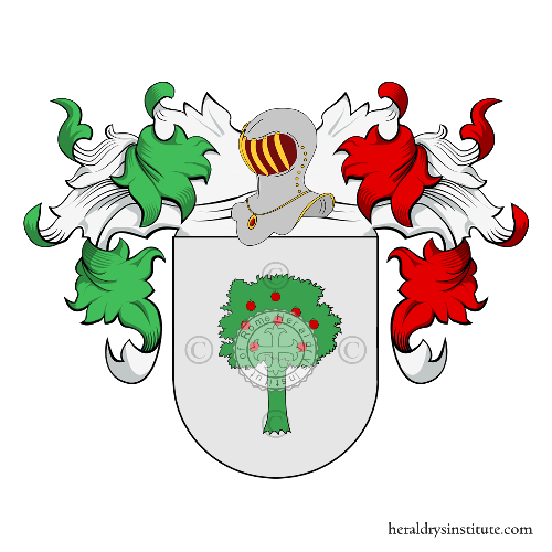 Coat of arms of family Maurelli