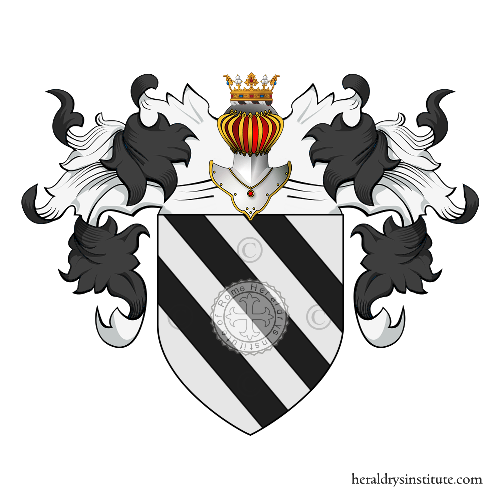 Coat of Arms of family Sacchetti