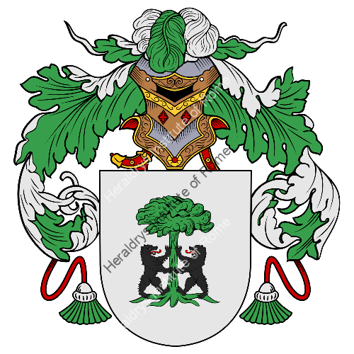 Coat of Arms of family Pedreira