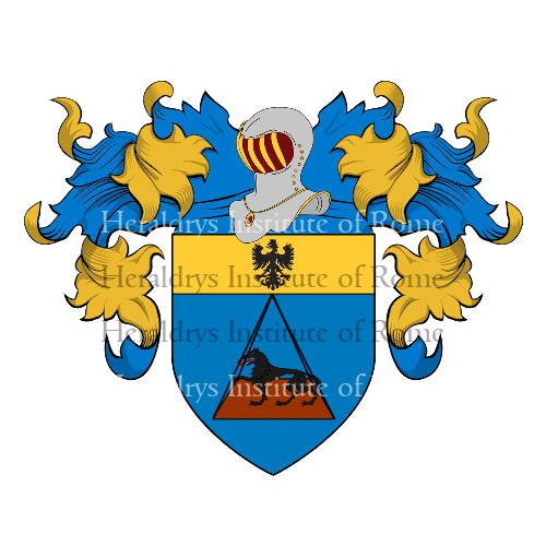 Coat of Arms of family Bacigalupo