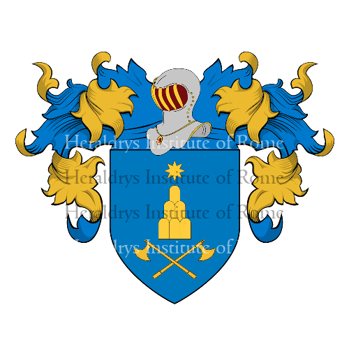Coat of Arms of family Fabrini
