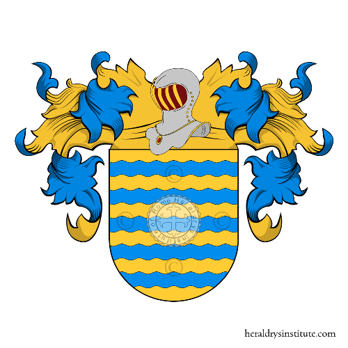 Coat of arms of family Maron