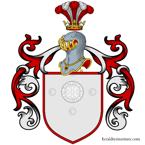 Coat of arms of family Taurisano