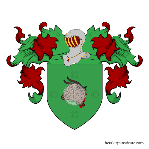 Coat of Arms of family Manzo