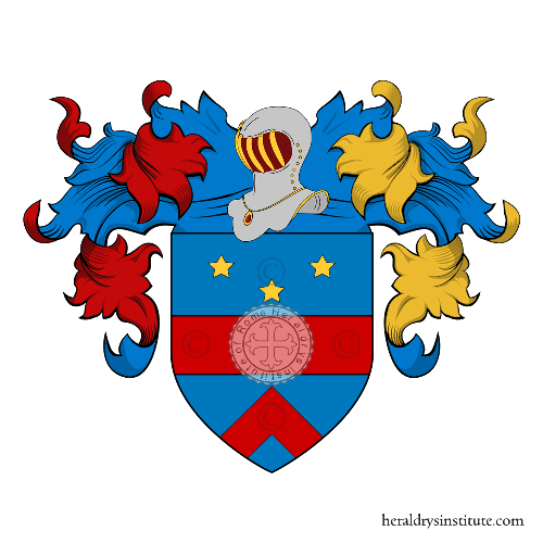 Coat of Arms of family Silvani