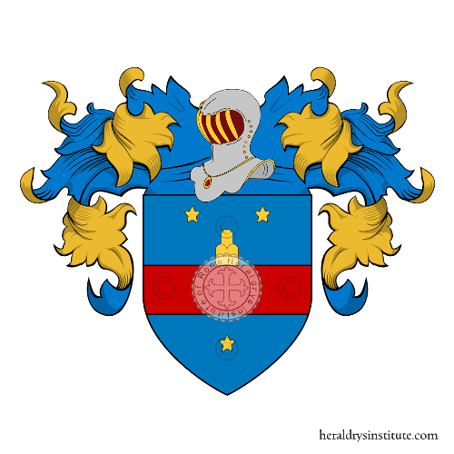 Coat of arms of family Franci