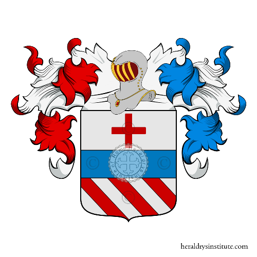 Coat of arms of family Galeazzi Salvati
