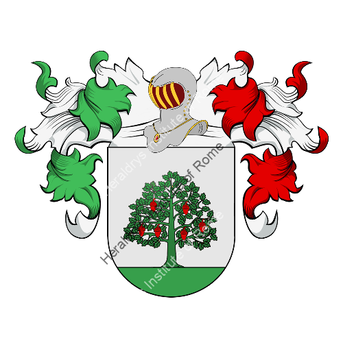 Coat of arms of family Guerreiro