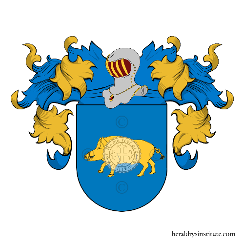 Coat of Arms of family Arronte