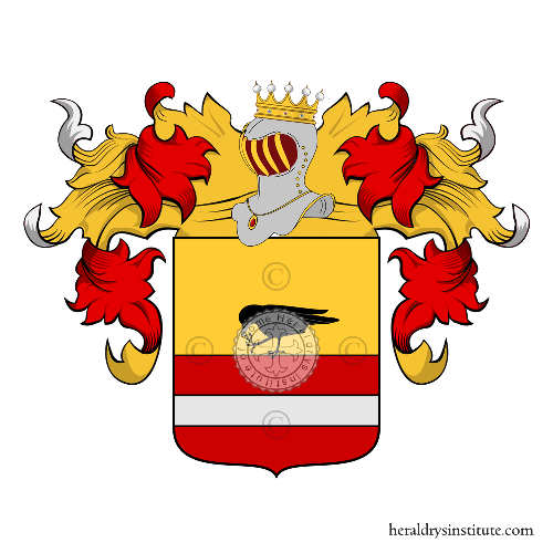 Coat of arms of family Maseri