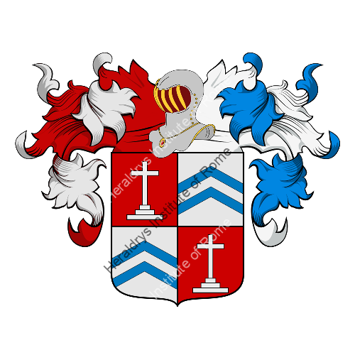 Coat of Arms of family Peligrino