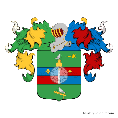 Coat of Arms of family Pressio