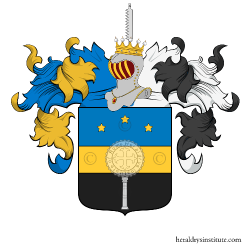 Coat of arms of family Ressia